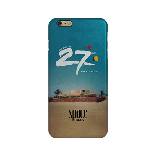 Space Ibiza iPhone Case - Facade