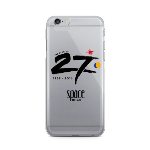 Space Ibiza iPhone Case - Transparent