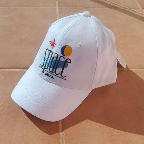 Baseball Cap - White Space Logo