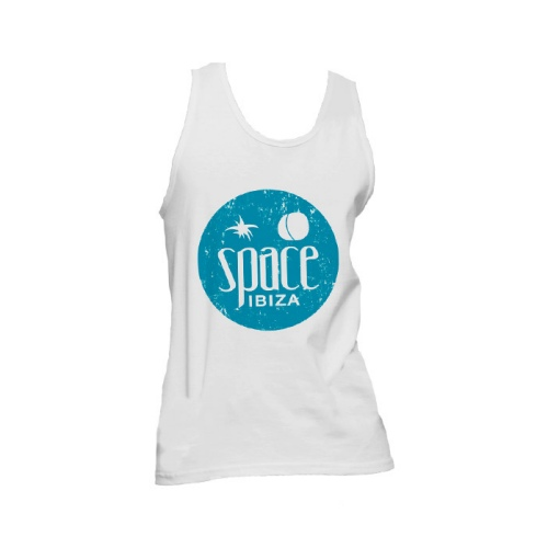 Space Logo Vest Singlet (Trash Blue)